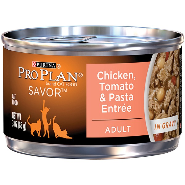 Pro Plan Cat Wet Adult Chicken Tomato & Pasta Entree in Gravy Cat Food