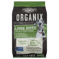 Organix Large Breed Adult Dog Food with  Chicken Brown Rice and Flax Seed