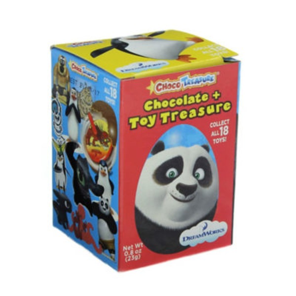 Choco Treasure Chocolate Egg Toy Penguin