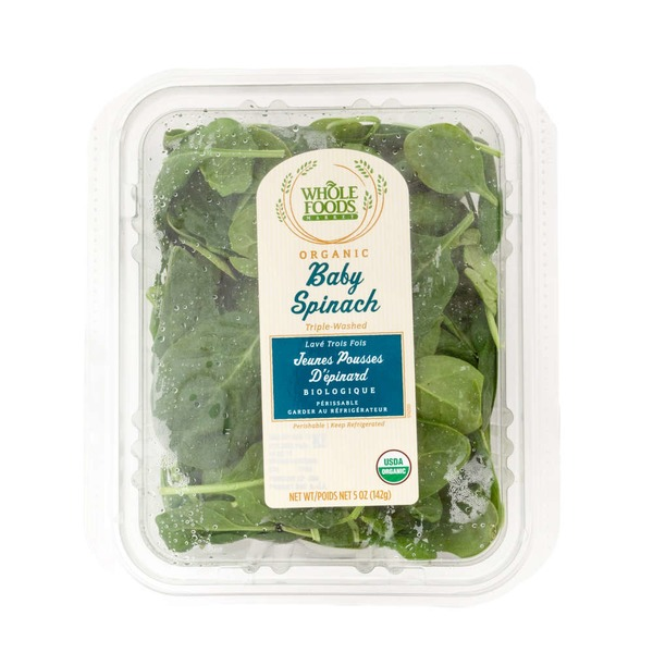 Whole Foods Market Organic Baby Spinach