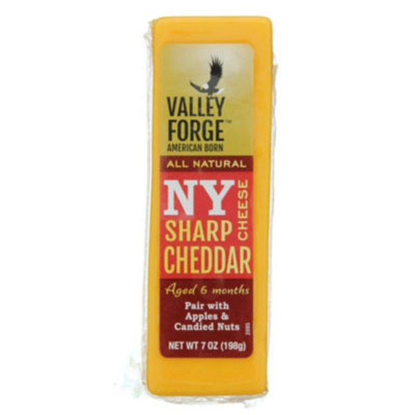 Valley Forge All Natural New York Sharp Cheddar Cheese