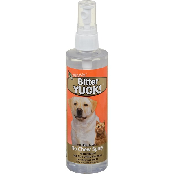NaturVet Bitter Yuck No Chew Spray
