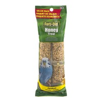 Forti-Diet Honey Treat Parakeet - 4 PK