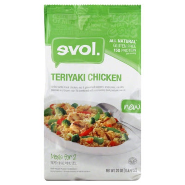 Evol Foods Teriyaki Chicken Frozen Entree