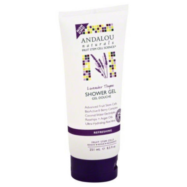 Andalou Naturals Refreshing Lavender Thyme Shower Gel