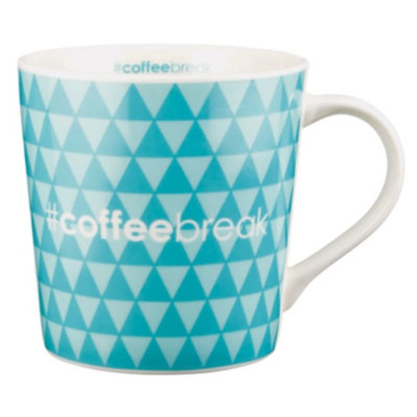 Jay Imports Hashtag Coffee Break Mug 16 Oz