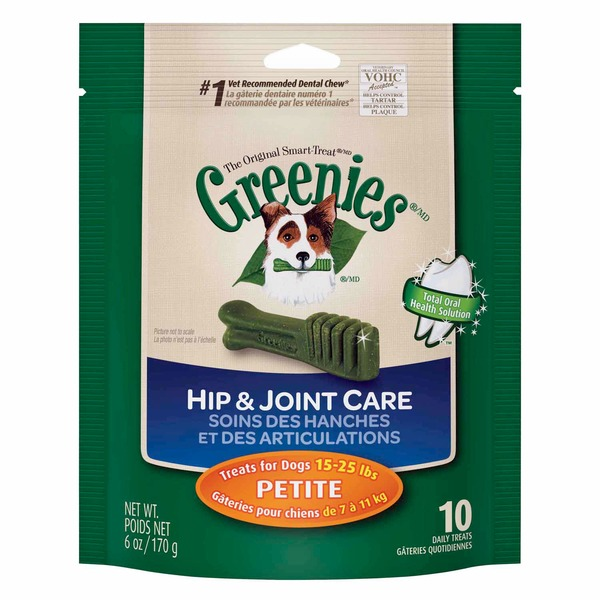 Greenies Hip & Joint Care Petite Dog Treats