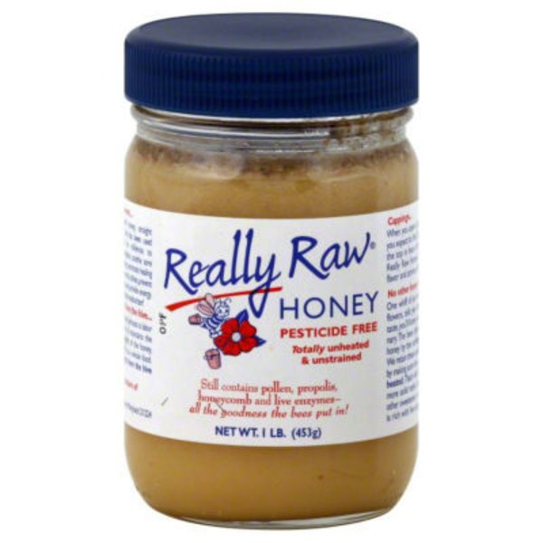 Really Raw Honey Honey