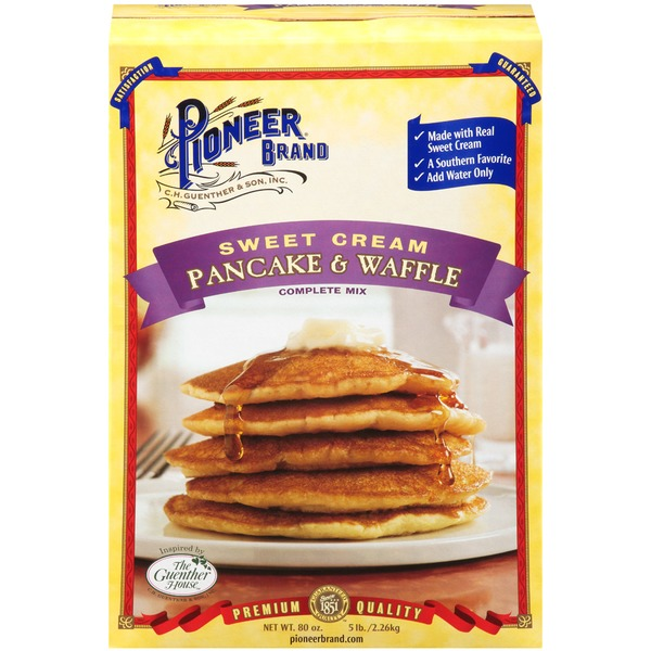 Pioneer Brand Sweet Cream Complete Pancake & Waffle Mix