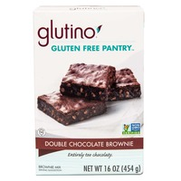 Glutino Gluten Free Pantry Double Chocolate Brownie Mix