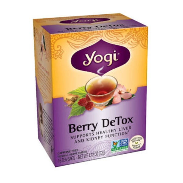 Yogi Berry DeTox Tea