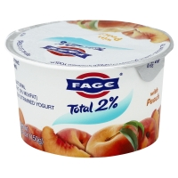 Fage Total Greek Strained Yogurt 2% Peach