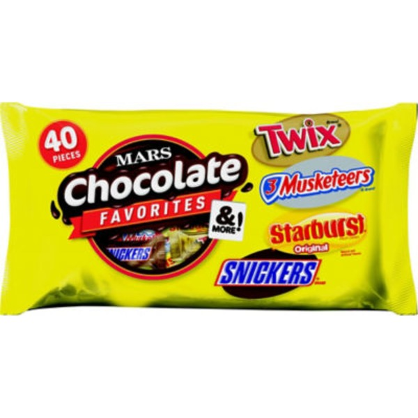 Mars Chocolate Favorites & More