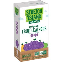 Stretch Island Original Grape Fruit Leathers, 0.5 oz, 8 count