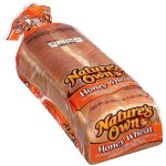 Nature's Own Sliced Honey Wheat Bread, 20 oz