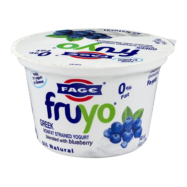 Fage Fruyo Greek Nonfat Strained Yogurt Blended with Blueberry