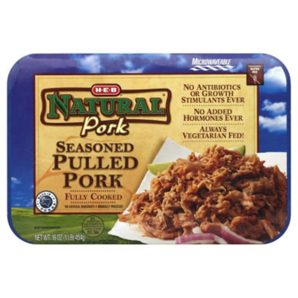 H-E-B Natural Seasoned Pulled Pork