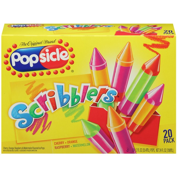 Popsicle Scribblers Ice Pops