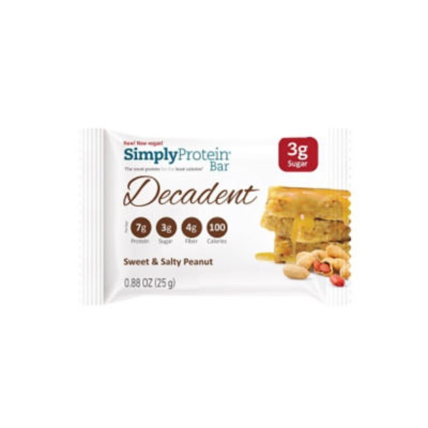 Simply Protein Sweet & Salty Peanut Decadent Bar