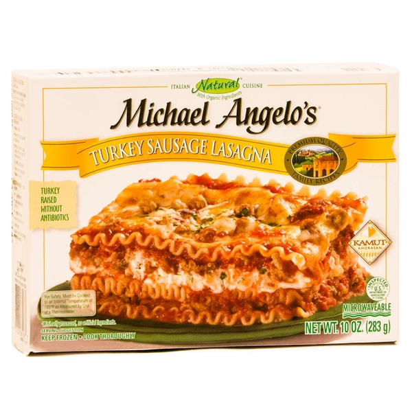 Michael Angelo's Turkey Sausage Lasagna