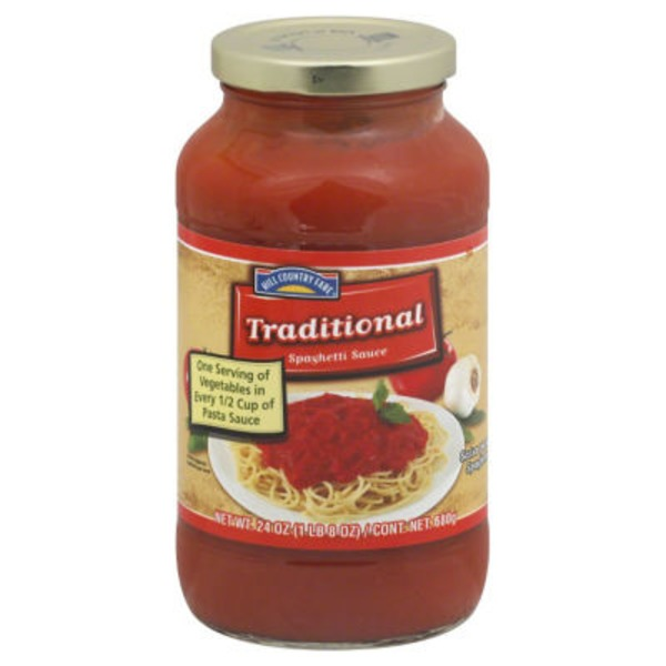 Hill Country Fare Traditional Spaghetti Sauce