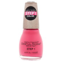 SinfulColors SinfulShine Step 1 Color Nail Color, Come Hither, 0.5 fl oz