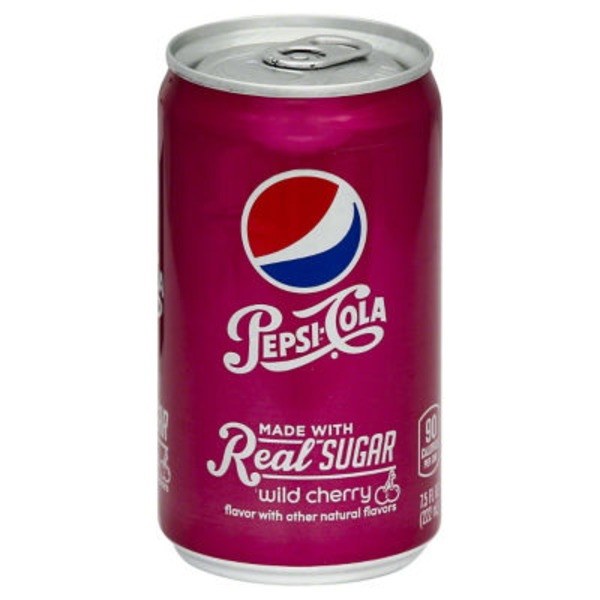 Pepsi Wild Cherry Made with Real Sugar Cola
