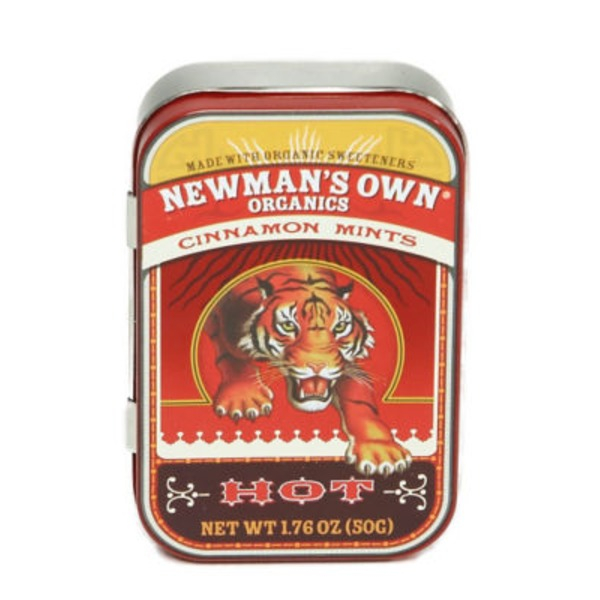 Newman's Own Cinnamon Mints Hot