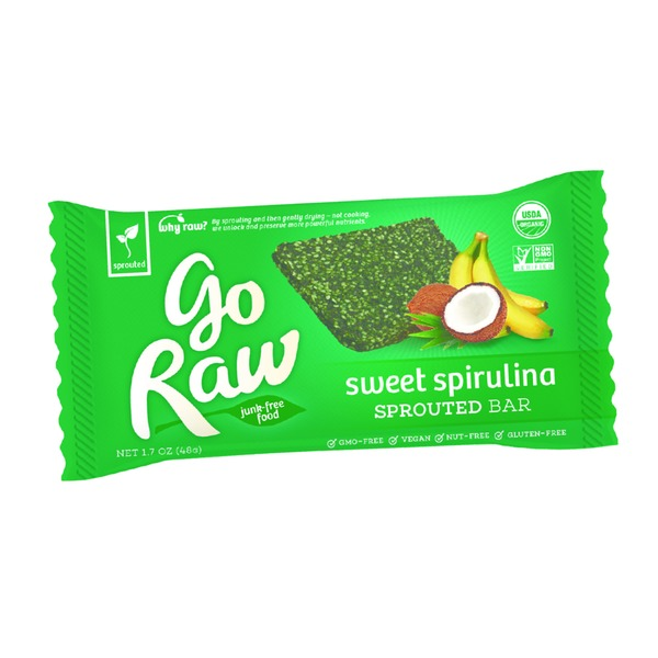 Go Raw Sweet Spirulina Sprouted Bar
