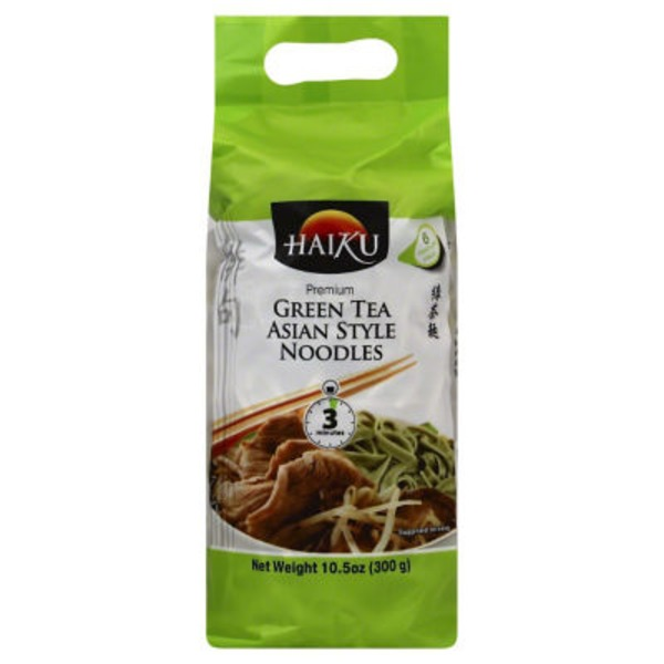 Haiku Premium Green Tea Asian Style Noodles