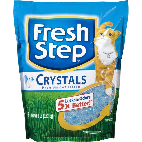 Fresh Step Premium Cat Litter Crystals