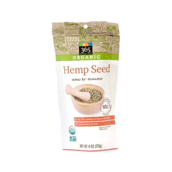 365 Raw & Hulled Hemp Seed Hearts