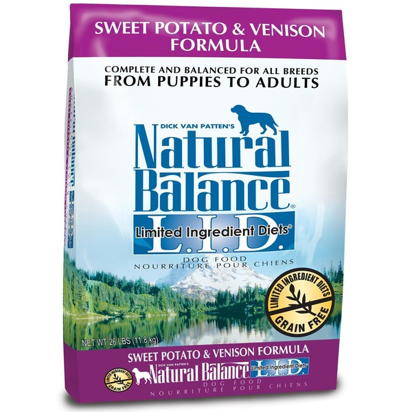 Natural Balance L.I.D. Limited Ingredients Diets Grain Free Sweet Potato & Venison Dog Food
