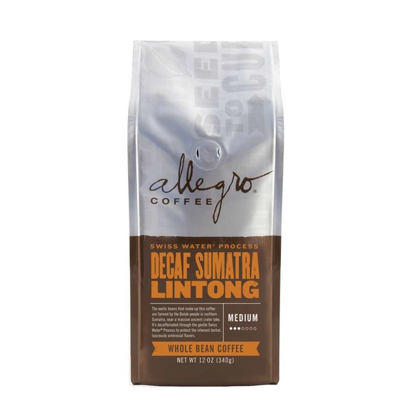 Allegro Decaf Sumatra Whole Bean Coffee
