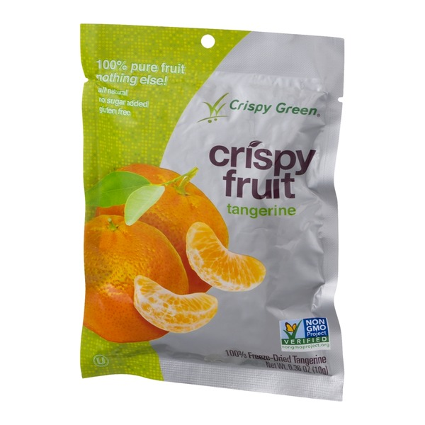 Crispy Green Crispy Fruit 100% Freeze Dried Tangerine