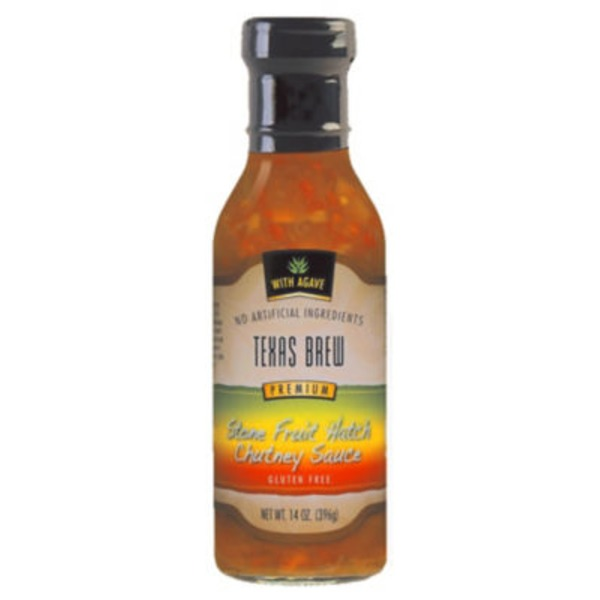 Texas Brew Stone Fruit Hatch Chutney Sauce