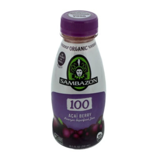 Sambazon 100 Amazon Superfood Juice Acai Berry