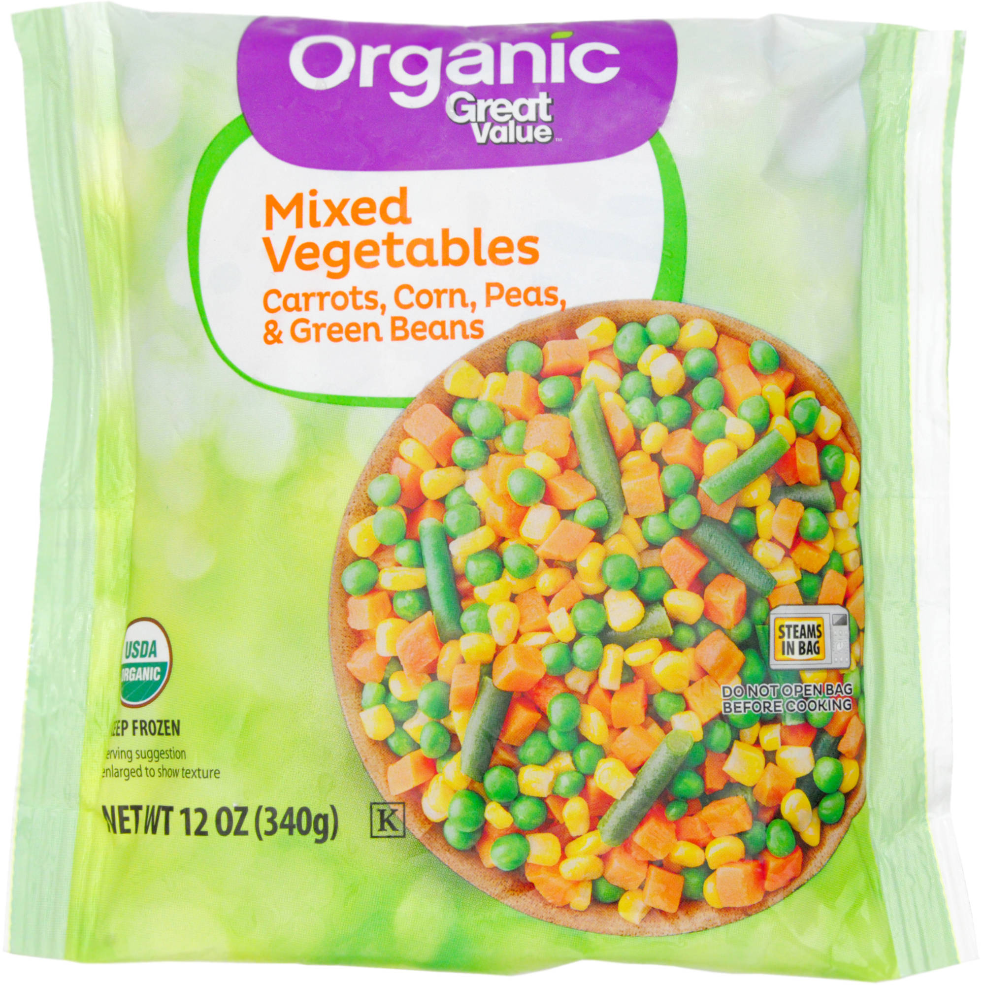Great Value Organic Mixed Vegetables