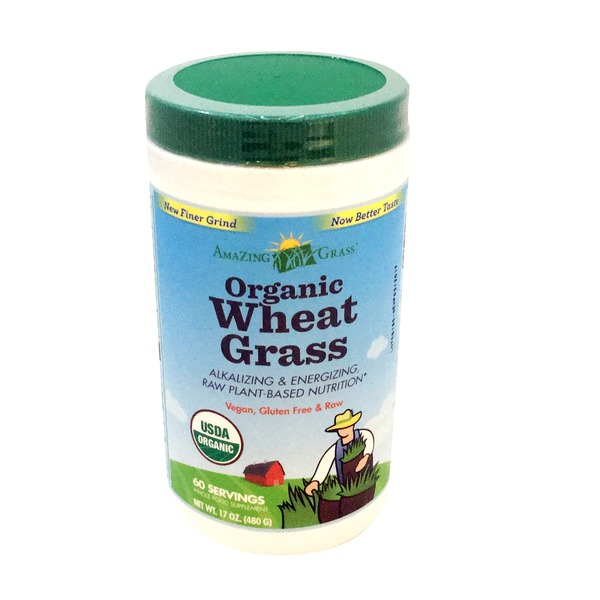 Amazing Grass Organic Wheat Powder