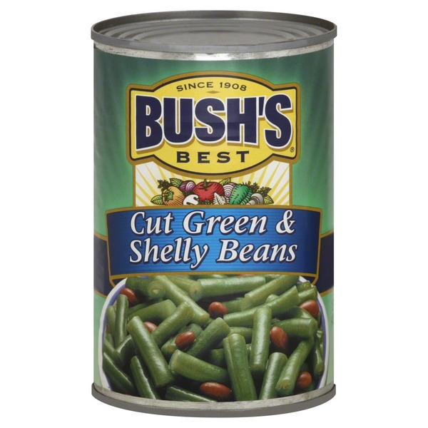 Bush's Best Cut Green And Shelly Beans