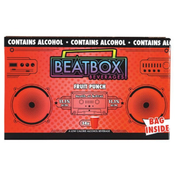 Beat Box Fruit Punch Beverage