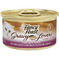 Fancy Feast Gravy Lovers Chicken Feast in Grilled Chicken Flavor Gravy Cat Food