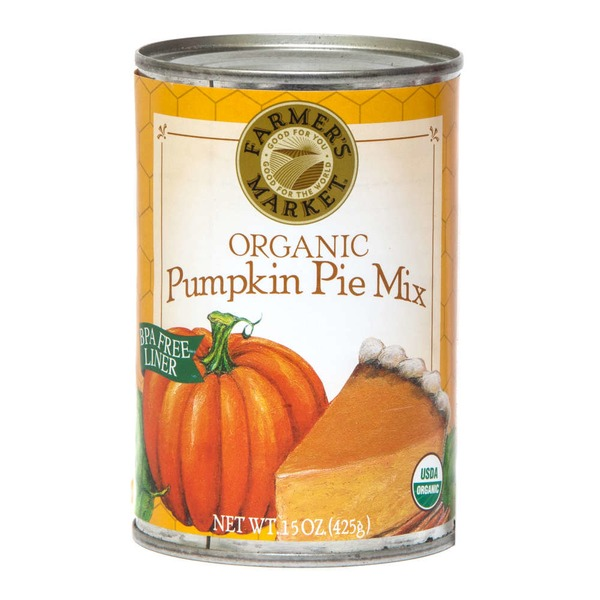 Farmer's Market Organic Pumpkin Pie Mix