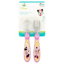 Disney Minnie Mouse Fork and Spoon 9m+