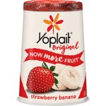 Yoplait Original Strawberry Banana Yogurt, 6 oz, 6.0 OZ