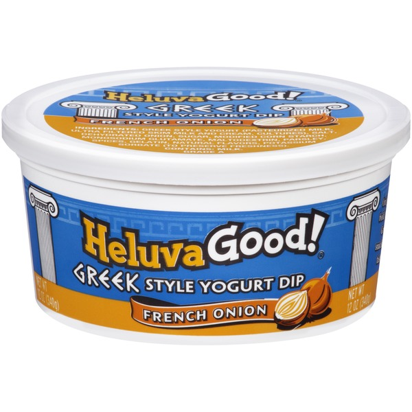 Heluva Good! French Onion Greek Style Yogurt Dip