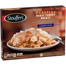 STOUFFER'S Satisfying Servings Roast Turkey Breast 16 oz. Box