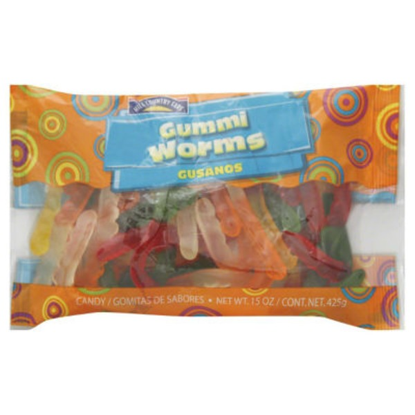 Hill Country Fare Gummi Worms