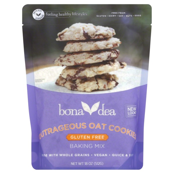 Bona Dea Baking Mix, Outrageous Oat Cookies