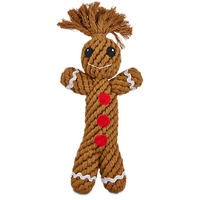 Holiday Home Medium Dog Gingerbread Rope